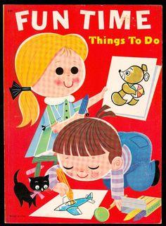 Samuel Lowe 1974 ''Fun Time Things to Do''  | eBay