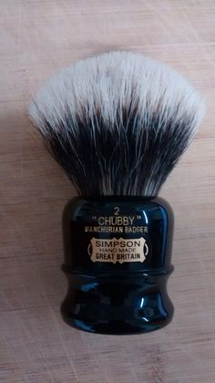Simpson Chubby 2 Manchurian Badger - MUST HAVE!