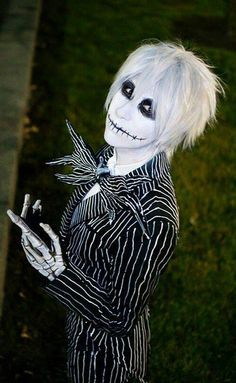 jack skellington costume hair ideas google search - Halloween Jack Costume
