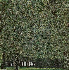 Gustav Klimt (1862-1918) - The Park, 1910 or earlier