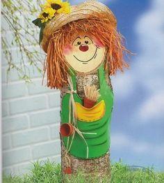 Farönkből - alkotnijo.lapunk.hu Wood Crafts, Diy And Crafts, Garden Deco, Christmas Crafts, Christmas Ornaments, Love Craft, Wood Slices, Farm Animals, Halloween Decorations