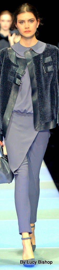 Lucys blog the haute stream...: Giorgio Armani Fall 2015 RTW