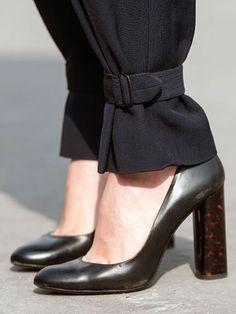 Bonjour, Paris: Zara shoes & trousers