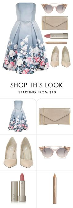 """Untitled #170"" by longarina ❤ liked on Polyvore featuring Chi Chi, Oasis, Marc Jacobs, Ilia and Estée Lauder"
