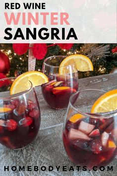 Winter Sangria, Red Wine Sangria, Christmas Sangria, Winter Cocktails, Red Wine Cocktails, Sangria Pitcher, Sangria Recipe For A Crowd, Red Sangria Recipes, Drink Recipes