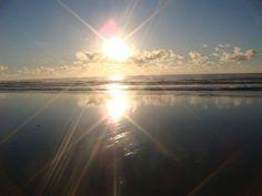 Praia de guaibim - por do sol
