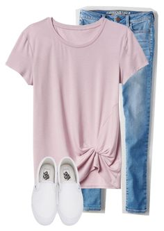 """""""Untitled #181"""" by lhnlila ❤ liked on Polyvore featuring American Eagle Outfitters and Vans"""