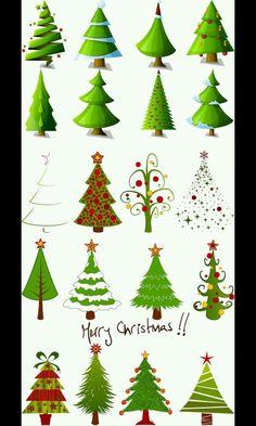 Christmas tree designes