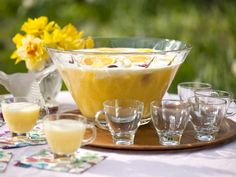 COCKTAIL - ENTERTAINING -Sunrise Punch Recipe : Food Network Kitchen : Food Network