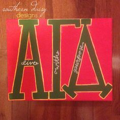 Alpha Gamma Delta ΑΓΔ Sorority Live With by SouthernDaisyDesigns