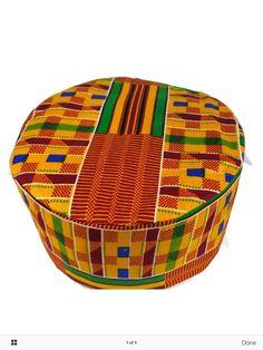 Men Kente Dashiki African Black History Month Traditional Kufi Hat Pakol  OneSize  Handmade  AfricanKenteTradionalHat e9356a8c7eb1