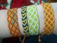 DIY Tutorial: DIY Friendship Bracelet / DIY Double Chevron Friendship Bracelet - Bead&Cord