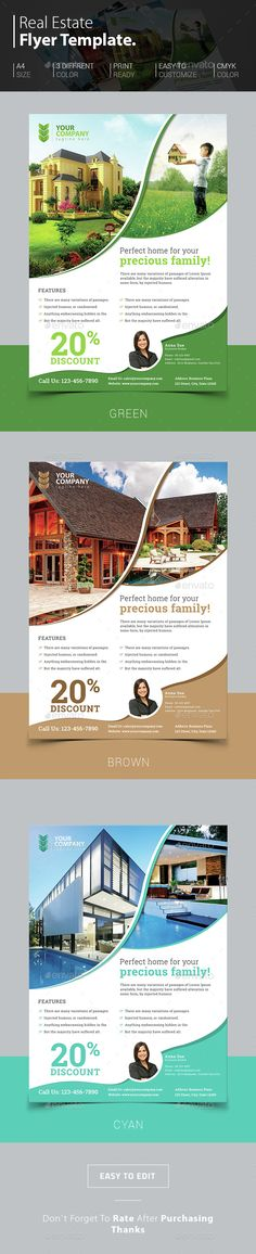 Real Estate Flyer     ........................................................ Please save this pin... ........................................................... Because for real estate investing... Click on this link now!  http://www.OwnItLand.com