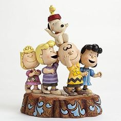 Jim Shore Peanuts Charlie Brown 65th Anniversary Hooray Figurine by Enesco @ niftywarehouse.com #NiftyWarehouse #Nerd #Geek #Entertainment #TV #Products