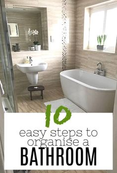 Small Bathroom organisation Tips to Maximise Space In 2020 How to organise A Bathroom 10 Simple & Effective Steps Of 95 Inspirational Small Bathroom organisation Tips to Maximise Space In 2020 Small Bathroom Shelves, Spa Like Bathroom, Family Bathroom, Bathroom Layout, Bathroom Ideas, Home Organisation Tips, Small Bedroom Organization, Bathroom Organisation, Bathroom Cleaning