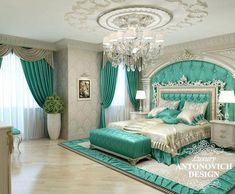 Traditional bedroom in one of the beautiful bedrooms chosen by people who love classic modern bedrooms. traditional design featured with . Dream Rooms, Dream Bedroom, Home Bedroom, Bedroom Decor, Bedroom Furniture, Furniture Ideas, Furniture Makers, Bedroom Wardrobe, Bedroom Green