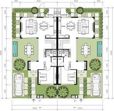 THIẾT KẾ DỰ ÁN SWANBAY | KHU ĐÔ THỊ SWANCITY House Layout Plans, Family House Plans, New House Plans, Small House Plans, House Layouts, Duplex Floor Plans, Home Design Floor Plans, Home Building Design, House Floor Plans