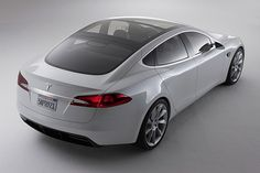 Tesla Model S Electric Car -- totally groundbreaking