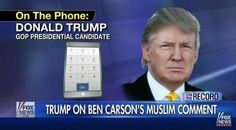 Full Video: Donald Trump Interview with Greta Van Susteren on Ben Carson Muslim President Controversy, Carly Fiorina, Scott Walker and More
