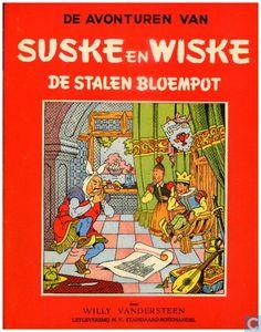 Strips - Suske en Wiske - De stalen bloempot