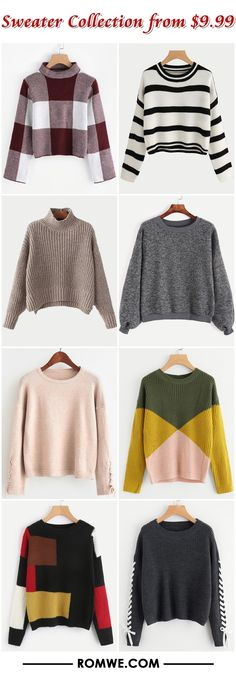 Sweater Collection from $9.99 - romwe.com