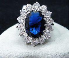 Rings - Kate Princess Diana William Engagement Ring