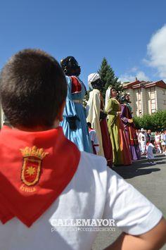 Gigantes. Fiestas de Estella 2012