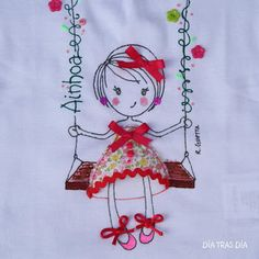 embroidery sketching - soooo cute!---would be so cute on CQ block