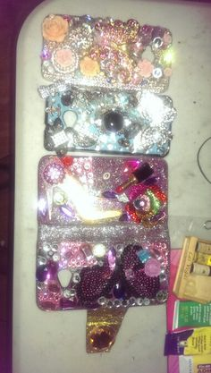 Cell phone cases mase the 2nd and 3rd one, bought the 1st from Amazon