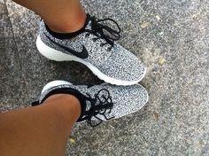 Des Nike et un mental d'acier