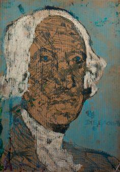 George Washington by Ike Morgan - intuitive eye