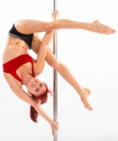 New Moves from the Spin City Pole Bible - Thread the Needle: http://www.spincityinstructortraining.com/shop