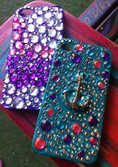 MAYA IN THE MOMENT TEEN CRAFT: Easy Puffy Paint iPhone Cases