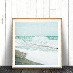 Available sizes (inches): Beach Theme Wall Decor, Beach House Decor, Beach Themes, Frames On Wall, Framed Wall Art, Texture Art, Painting Frames, Photo Wall Art, Coastal