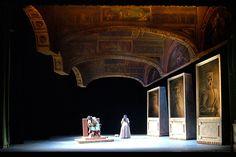 Rigoletto. Teatro Bonci. Scenic design by Franco Cocco. 2007