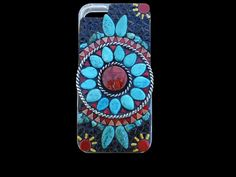 Native American Turquoise Jewelry | ... Native American Style Iphone 5 Cell Phone Case With Turquoise Jewelry