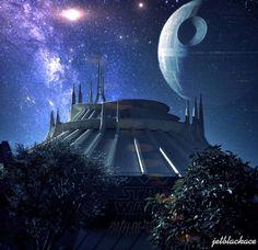Prepare to jump to light speed!  #hyperspacemountain #spacemountain #tomorrowland #dlr #disney #disneyland #disneyland60 #diamondcelebration #60thcelebration #disneymagic #igersla #igaddict #igdisney #igforlife #igersdisney #instagood #instadisney #starwars #forceawakens #deathstar #hyperspace #lightspeed by jetblackace