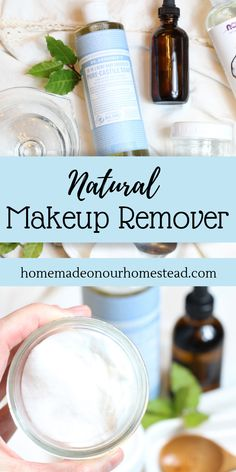 This post will walk you step by step through making your own natural makeup remover. Make pre-made moistened wipes, or store in a pump container indoor cabinet for the easiest chemical/toxin free makeup remover. Just a few clean ingredients needed and rea Toxin Free Makeup Remover, Diy Makeup Remover Wipes, Homemade Makeup Remover, Diy Natural Makeup Remover, Diy Makeup Remover Coconut Oil, Best Makeup Remover, Gel Eyeliner, Diy Makeup Primer, Easy Makeup