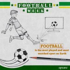 One of the best sports in the world. Which team is your favourite? #ApsaraAcademy #Football