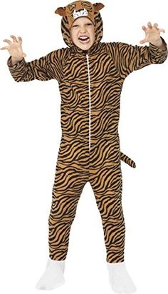 awesome       £11.74  Become a Fearless Wild Big Cat with ourChild Tiger Onesie Costume. Outfit includes: Jumpsuit Our Child Tiger Onesie Costume ...  Check more at http://fisheyepix.co.uk/shop/smiffys-tiger-childrens-fancy-dress-costume-large-158-cm-age-10-12-years/