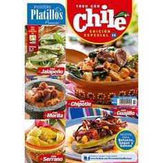 Revista Irresistibles Platillos Especial no. 14 - Todo con chile - Formato Imrpeso - Vista México