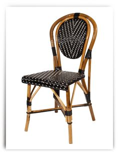 Genial Armless French Bistro Chair   These Beautiful Chairs Were Inspired By  French Cafes, And Will Bring Parisian Style Right Into Your Breakfast .