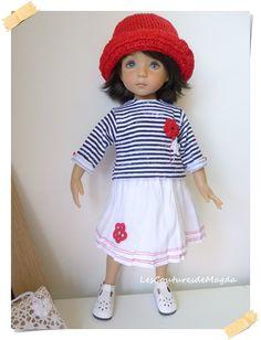Tenue de poupée Minouche Little Darling by LesCouturesdeMagda