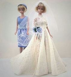 Bridal beauty, Barbie! (Leeny Doll collection)