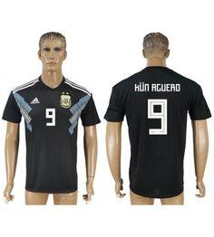 Argentinien Sergio Aguero 11 Auswärtstrikot WM 2018 Herren Sergio Aguero, Sports, Tops, Fashion, World Cup, Argentina, Football Soccer, Hs Sports, Moda