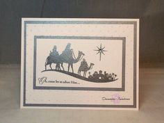 The Size of the card is 4 1/4 x 5 1/2 inches. The card comes with a white envelope (non Stampin Up) and will arrive in a clear, resealable