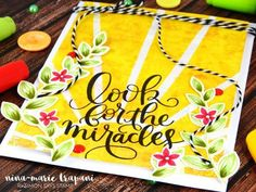 """Look For The Miracles"" June Card Kit Reveal 