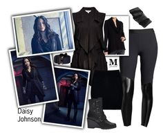 """Daisy Johnson - Promo season 5"" by m-spirations ❤ liked on Polyvore featuring Heroine Sport, Go Couture, claire's, BB Dakota, Boohoo, SOREL and Alyx"