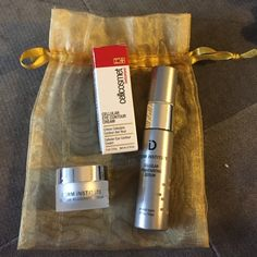Travel Size Luxury Skin Care Bundle NWOT. All travel size products. Cellular eye cream - .1 oz, cellular rejuvenating serum - .3 oz, cellular rejuvenating cream - .2 oz. Makeup Face Primer