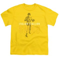 MGM/ROCKY/STALLION SWAG - S/S YOUTH 18/1 - YELLOW -